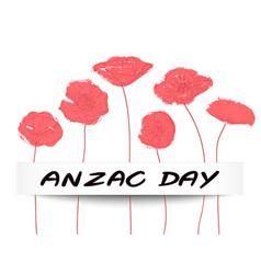 Anzac day concept vector