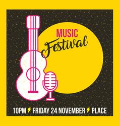 Classical music festival vector