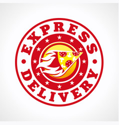 deliveri-pizza vector image