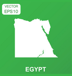 egypt map icon business concept egypt pictogram vector image