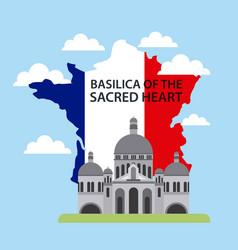 Happy bastille day france vector