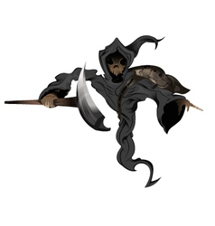 pointing reaper vector image