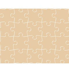 seamless pattern puzzle vector image