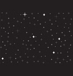 Stars background vector