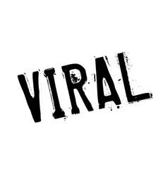 Viral rubber stamp vector