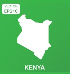 kenya map icon business concept kenya pictogram vector image