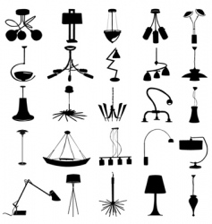 modern lighting vector image vector image