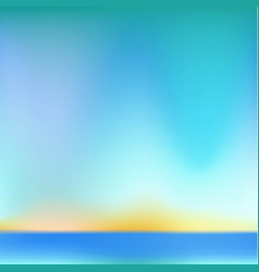 the mesh background is blue and the horizon vector image vector image