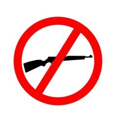 forbidden shotgun vector image