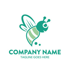 Bee logo-6 vector
