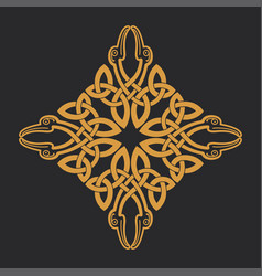 Celtic knot ethnic ornament t-shirt print vector