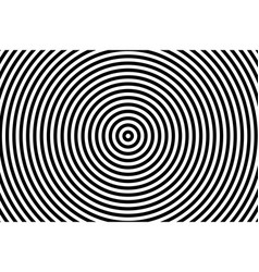 dark circles background in lines design black vector image