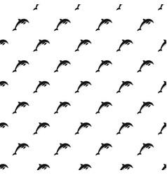 Dolphin pattern vector