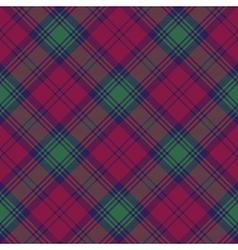 Lindsay tartan fabric texture diagonal seamless vector image