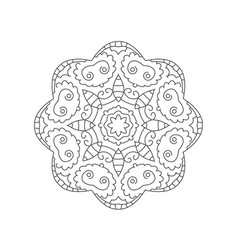 manadala ornament vector image