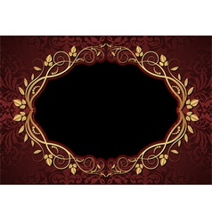 maroon and black background vector image vector image