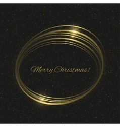 Merry Christmas vector image vector image