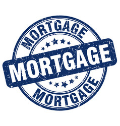 Mortgage stamp vector