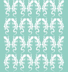 pattern lizard 2 vector image