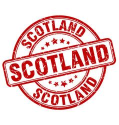 Scotland stamp vector