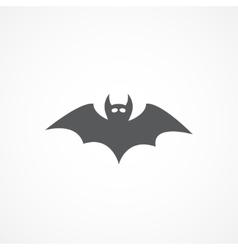 Bat icon vector image vector image