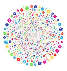 Error festival spheric cluster vector