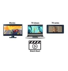 Multiplatform streaming service advertisement vector