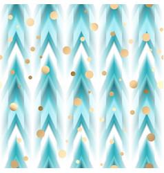 seamless ikat ethnic pattern vector image