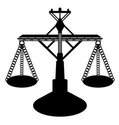 balance figure vector image