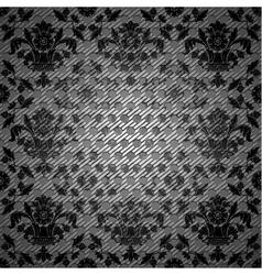Floral filigree texture vector