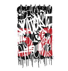 Graffiti tags print design graphic vector