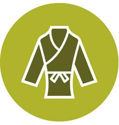 Karate icon vector