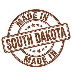 Made in South Dakota vector