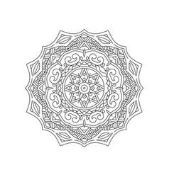 manadala ornament vector image