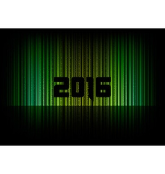 New year 2016 vector