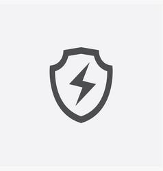 shield energy icon vector image
