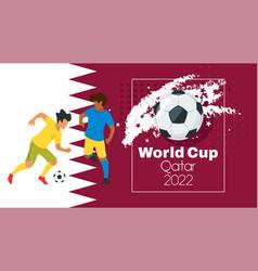 Soccer championship design element vector