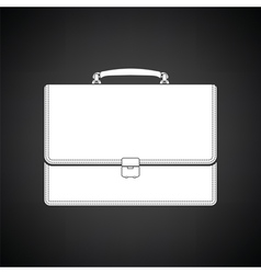 Suitcase icon vector