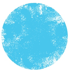 Textured blue dot vector