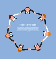 Business people working vector