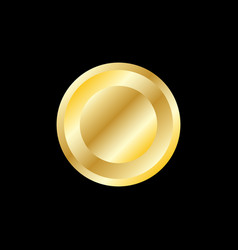 button symbol design template vector image