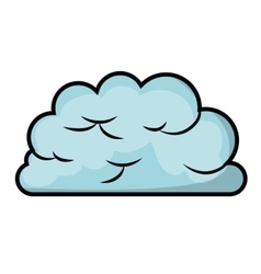 cloud computing concept isolated icon design vector image