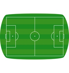 Green football field background vector