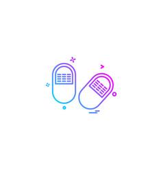 Medical medicine health icon desige vector