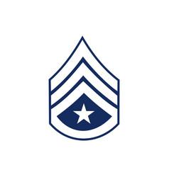 Military rank logo vector
