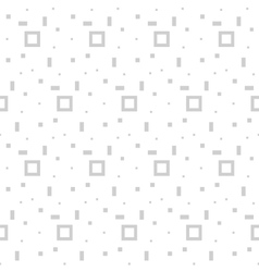 Simple seamless minimalistic pattern vector image