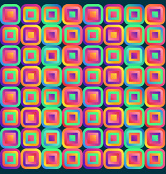 vivid abstraction with multicolored cubes arranged vector image