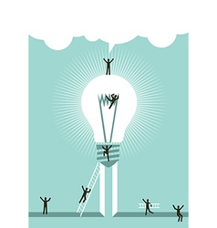 Achieving a successful idea vector