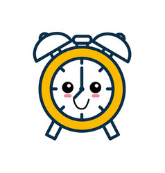 alarm clock cartoon vector image