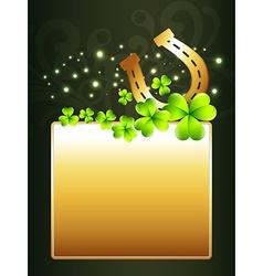 beautiful st patricks day design vector image